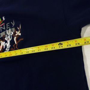Warner Bros. Shirts - Vintage Looney Tunes Embroidered Sweatshirt XXL